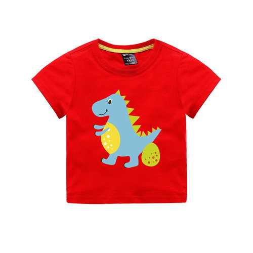 Animal Print Boys T-shirt For 1Y-11Y