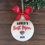 Mom Christmas Ornament, Best Mom Gifts, Mom Ornaments
