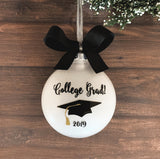 College Graduation Ornament, Gift For Grad
