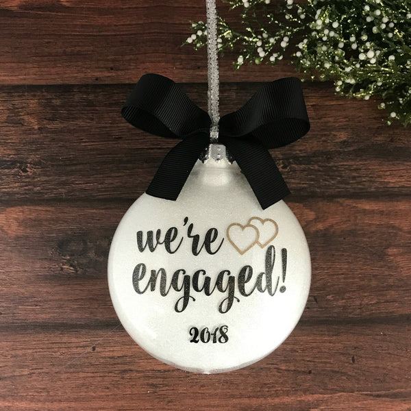 gay engaged ornament engagement gift for gay couple