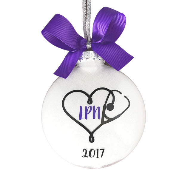 Nurse Ornaments, LPN Graduation Gifts