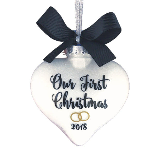 Our First Christmas Ornament, Wedding Ornament