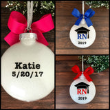 RN Ornament, RN Graduation Gifts Personalized