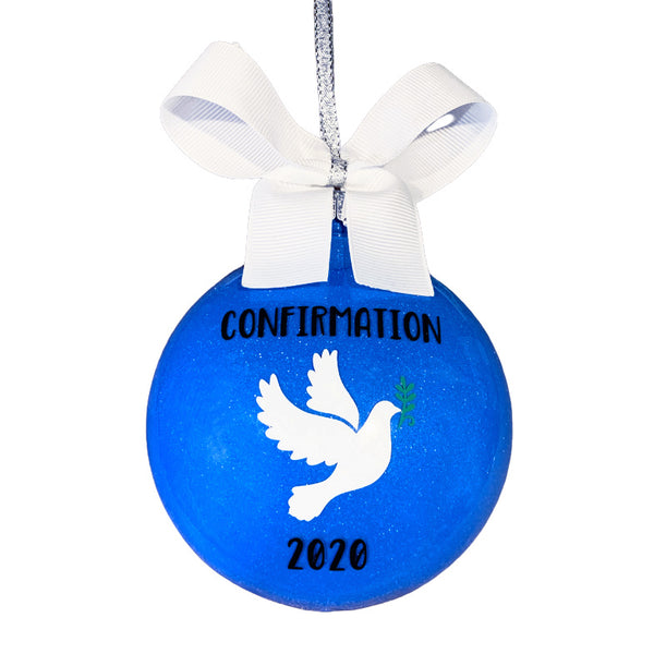 Personalized Confirmation Gifts, Confirmation Ornament