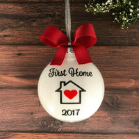 Our First Home Ornament, Housewarming Gifts