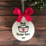 Nurse Ornament, Nursing Gifts Personalized