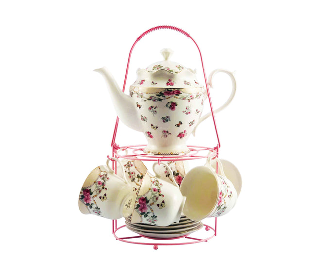 Supreme Porcelain Tea Set