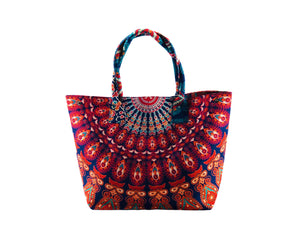 Kaleido Cotton Handbag