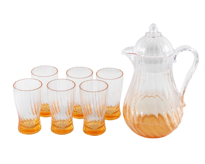 Pina Acrylic 7pc Jug Set