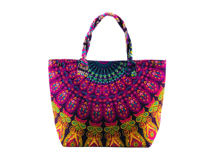Iris Cotton Handbag