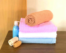 Blue Cawod Bath Towel