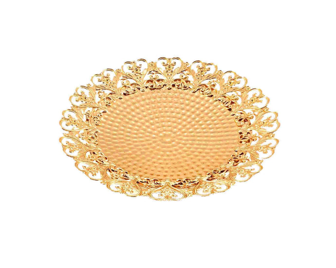 Carved Gold Tray