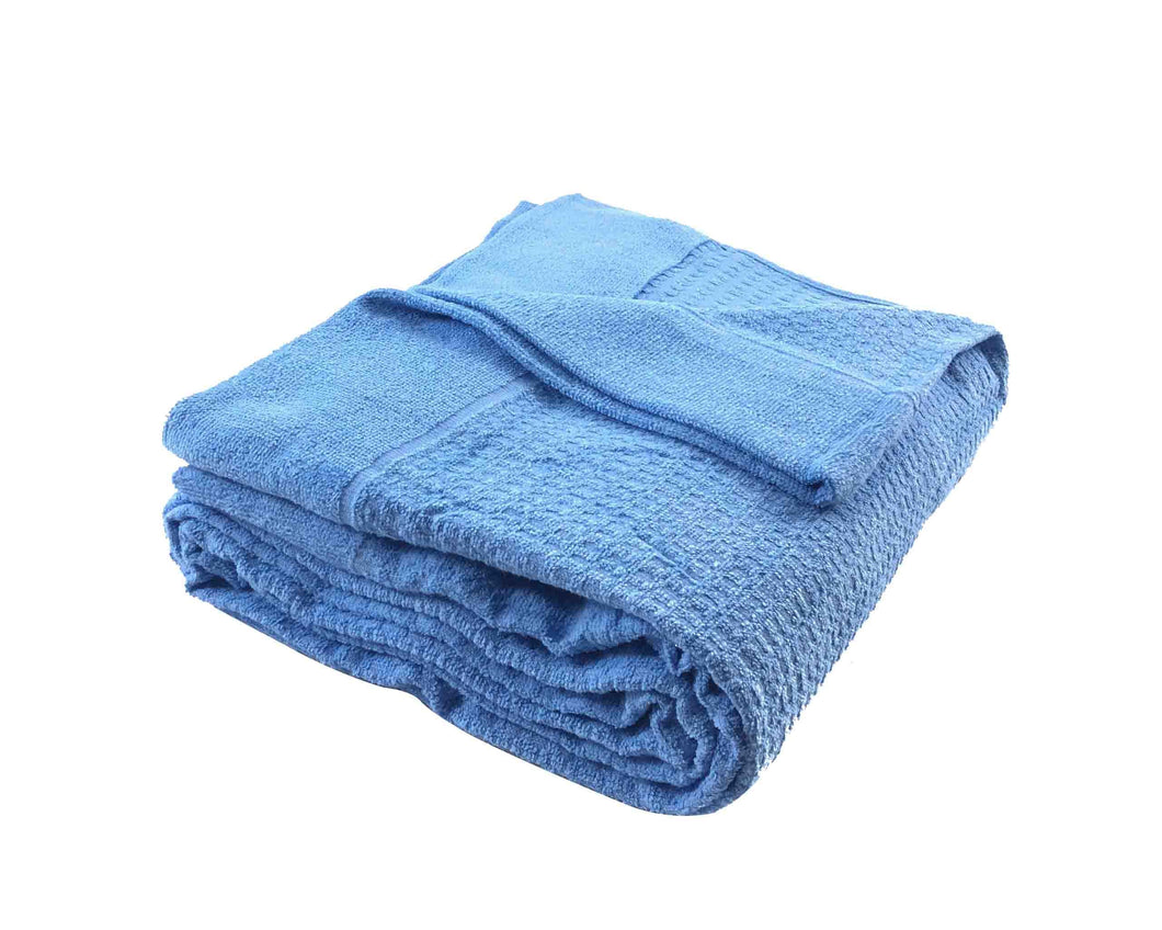 Blue Towel Blanket