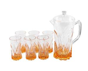 Zuka Acrylic 7pc Jug Set