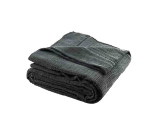 Charcoal Grey Towel Blanket