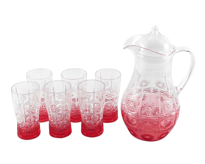 Krasni Acrylic 7pc Jug Set