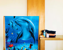 Opened Fishes Polyester Towel by Idaman Suri