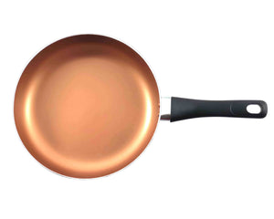 Top Angle Copper Non-Stick Frying Pan 24cm by Idaman Suri