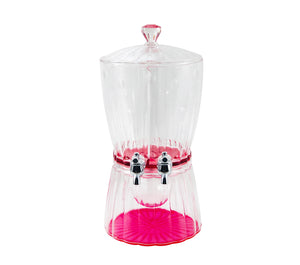 Cerise Acrylic Juice Dispenser