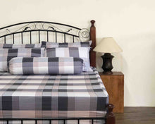 Plaid Cotton Fitted Bedsheet