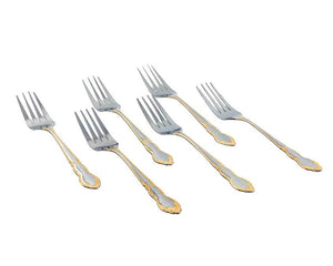 Oro 6pcs Stainless Steel Table Fork