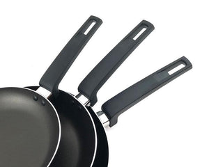 3pcs Black Non-Stick Frypan handle by Idaman Suri