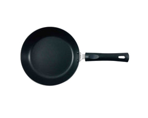 Top Angle Red Non-Stick Frying Pan 24cm by Idaman Suri