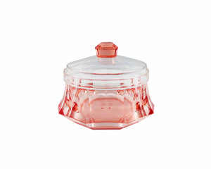 Acrylic Red Candy Jar