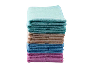 12 Folded Cotton Towels by Idaman Suri