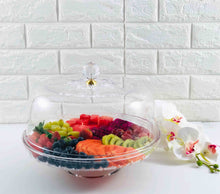 Acrylic Dessert Server with Dome