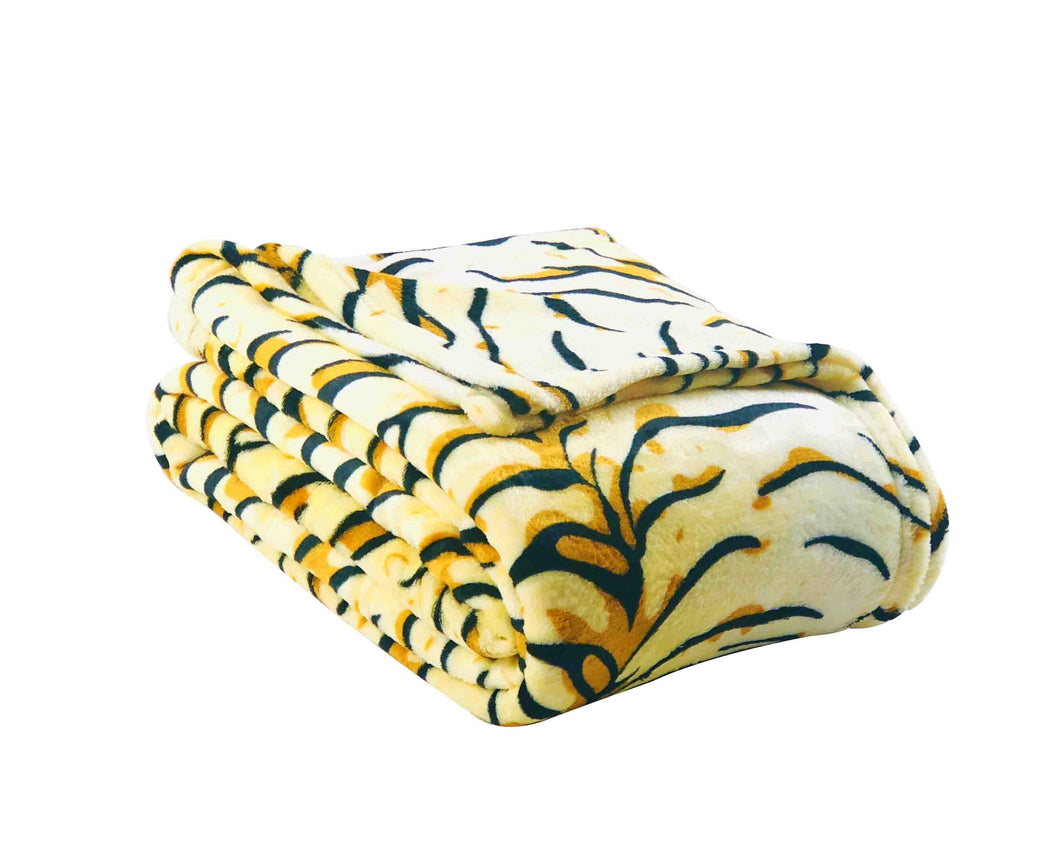 Tiger Stripe Soft Blanket
