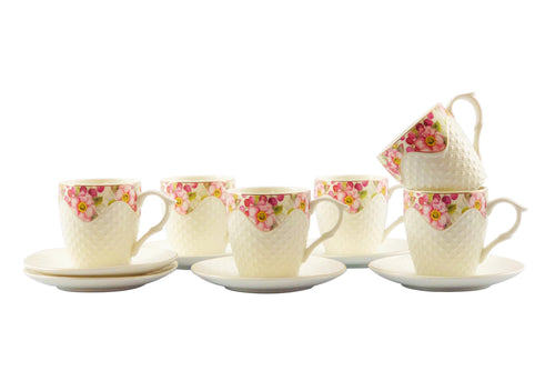 Creamy Tea Set