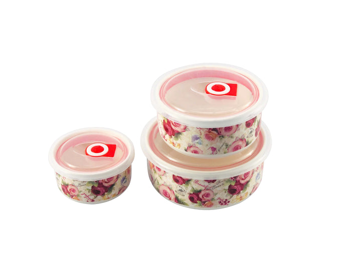 Floret Ceramic Container Set