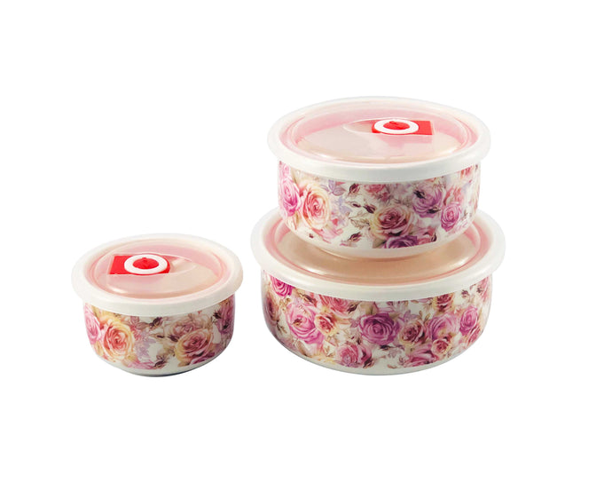 Blossom Ceramic Container Set