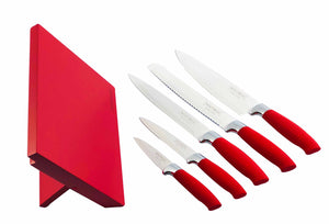 Red Royalty Line 6pcs Precision Cooking Knives