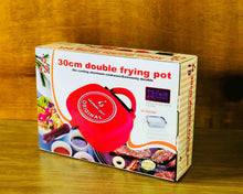 Red Double Deep Frying Pot 30cm Box by Idaman Suri