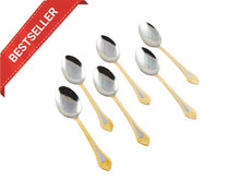 Zelts 6pcs Stainless Steel Tablespoon