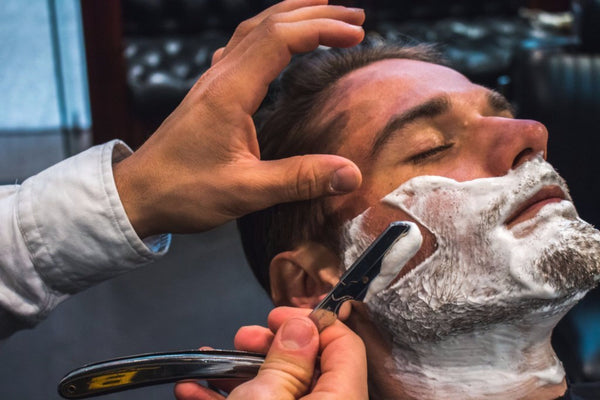 Workshop A - Lather Shave With Cut Throat Razor