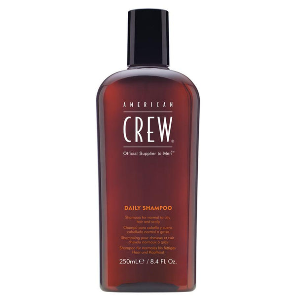American crew, gentle, cleanser, adds shine and strength, shampoo for men, mens grooming, mens online products, daily essentials for men, healthy hair, healthy scalp