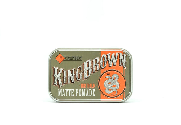 King Brown, Mens grooming, Pomade, Gift set, mens styling, retail, online shopping, hair products, shaving, mens styling, modern man, Barbershop, Barber, The barberhood, traditional shaving, Mens hair, beard trim, male grooming, haircare, Sydney, online shopping, syle