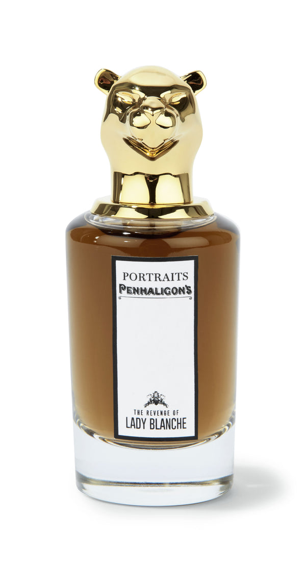 The Revenge of Lady Blanche Eau de Parfum 75ml, Mensbiz, Myer, Gifts for men, The barberhood, barber, barbershop, fragrance, frapin, taylor of old bond st, truefitt and hill, mall fragrance, male grooming, modern men, mens grooming products,  style, cologne, after shave, lather shave, deodorant, mens retail