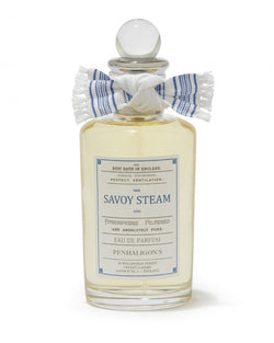 Mensbiz, Myer, Savoy Steam Eau de Parfum 100ML, The barberhood, barber, barbershop, fragrance, frapin, taylor of old bond st, truefitt and hill, mall fragrance, male grooming, modern men, mens grooming products, style, cologne, after shave, lather shave, deodorant, mens retail