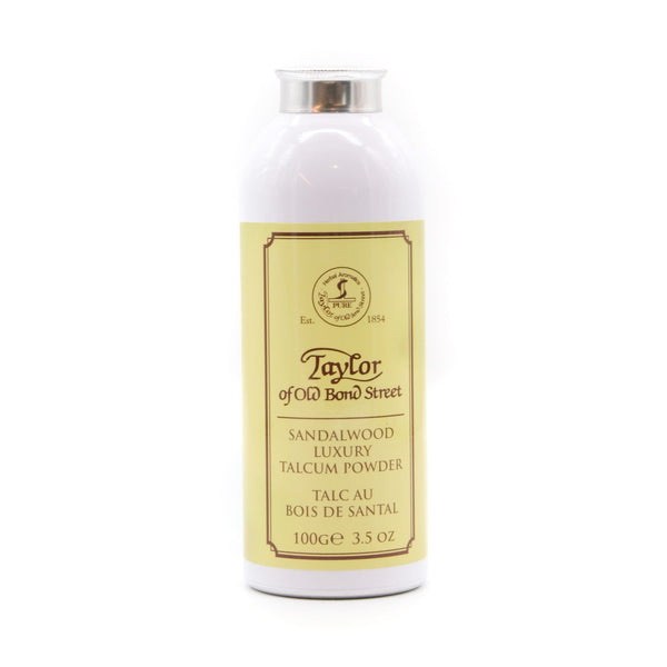 Taylor of Old Bond Street Luxury Talcum Powder 100g