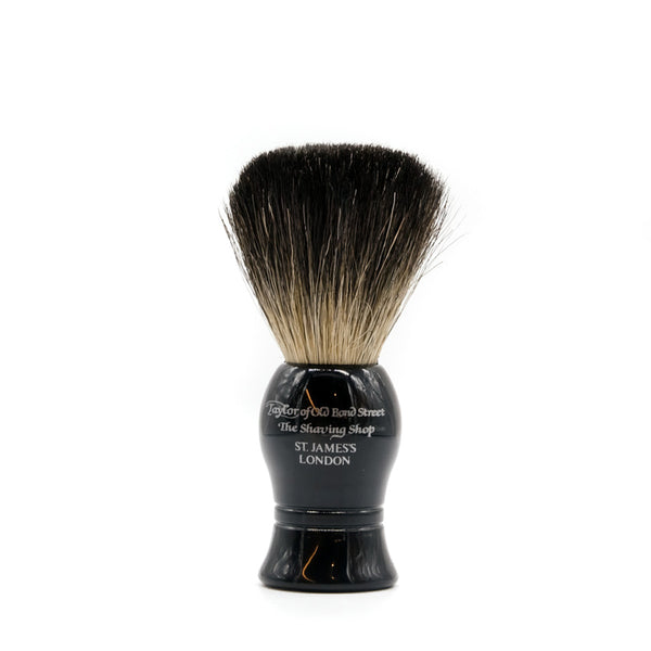 mens grooming products, mens hair products, male grooming tools, skincare, male skincare, Hair, Sydney, Australia, barber, male grooming, mens retail, male style, conditioner, online shopping, mens gifts, barberhood, barbershop, Taylor of Old Bond Street Small Pure Badger Brush, traditional, classic style