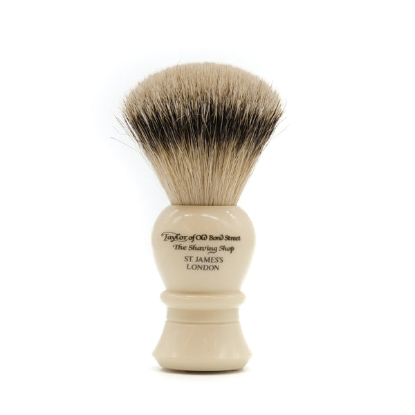 Taylor of Old Bond Street Ivory Large Super Badger Shaving Brush