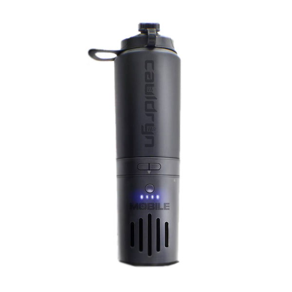 The Cauldryn Fyre Thermal Travel Mug Uses a Battery to Boil Its Contents