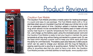 Cauldryn Fyre Mobile product review