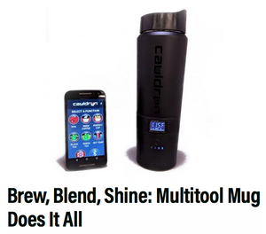 Cauldryn's Insulated Travel Mug Gets a Thumbs Up from Gear Junkie