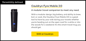 Cauldryn is iMore's Smart Travel Mug of Choice