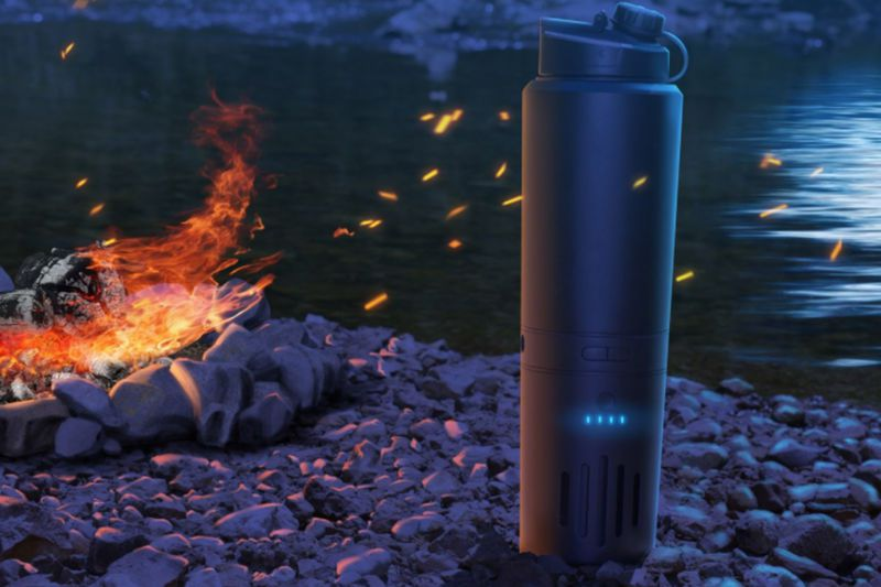 Cauldryn promises battery powered boiling in the wild, no flame required